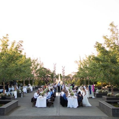 this is a spectacular garden to host any special occasion such as your wedding ceremony and reception - The Oregon Garden