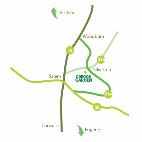 Directions to The Oregon Garden