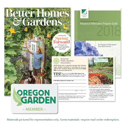 Membership with The Oregon Garden comes with so many great benefits!